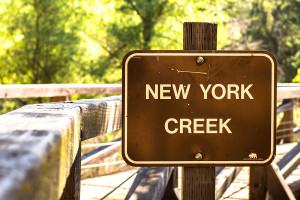 New York Creek on Salmon Falls Road