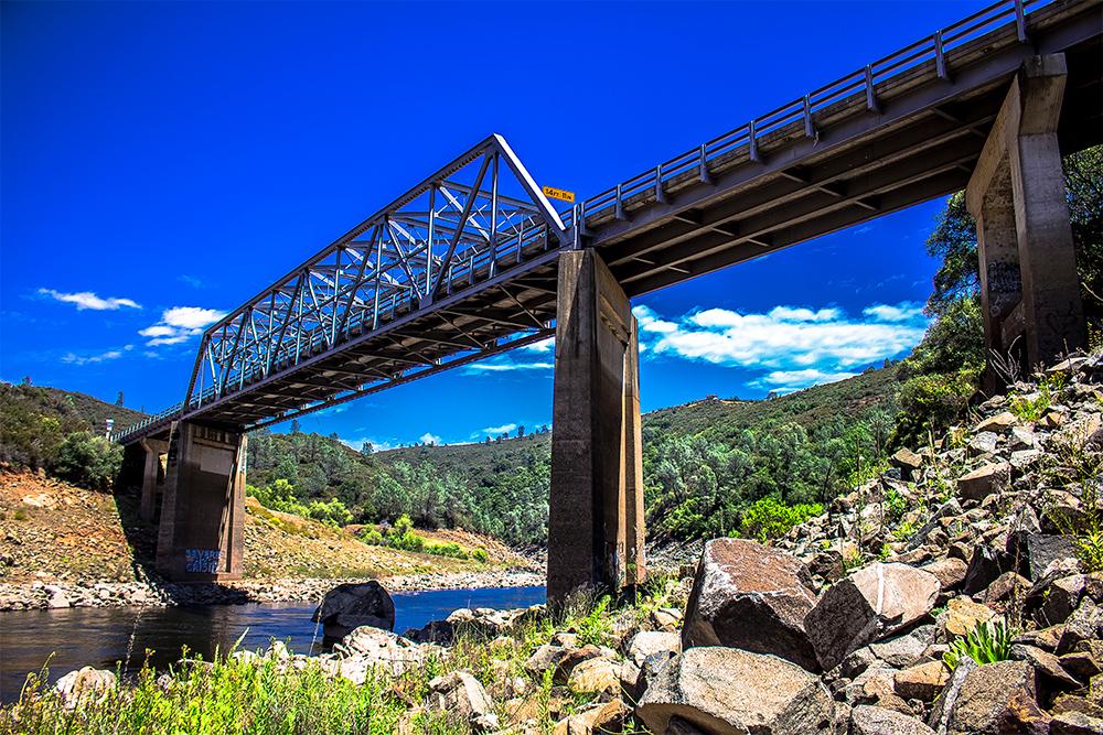 Salmon Falls Rd Bridge - El Dorado Hills CA