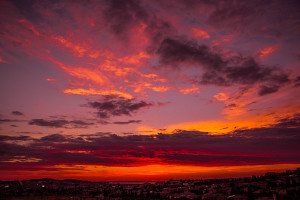 Sunset in El Dorado Hills